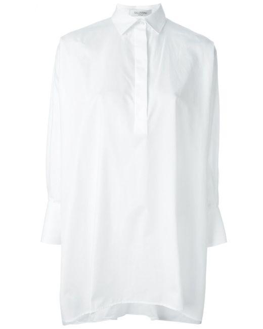 Valentino | Женское Белый Oversized Shirt