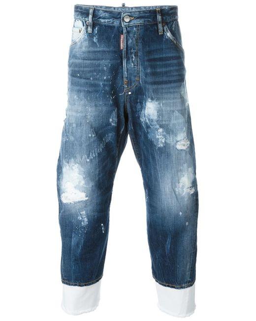 Dsquared2 | Мужские Синие Джинсы Work Wear