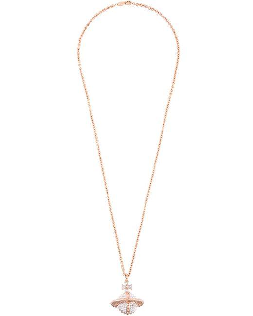 Vivienne Westwood   Женское Серебристый Logo Pendant Necklace