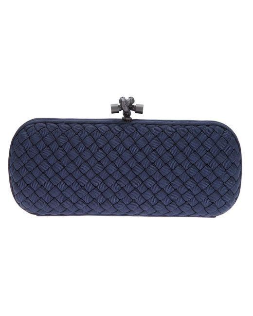 Bottega Veneta | Женское Синий Woven Box Clutch