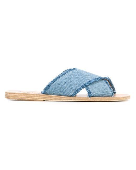 ANCIENT GREEK SANDALS   Женское Синий Thais Sandals