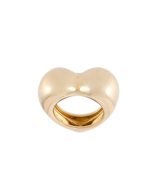 ALISON LOU | Женское Серебристый 18kt All My Heart Ring
