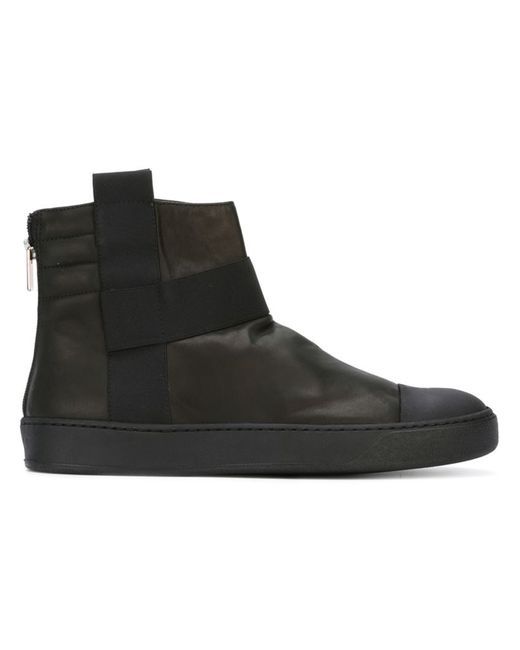 Lost & Found Ria Dunn | Мужское Чёрный Boot Hi-Top Sneakers