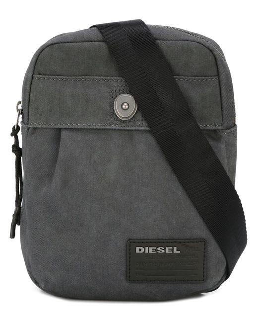 Diesel | Мужская Серая Сумка На Плечо De-Keep