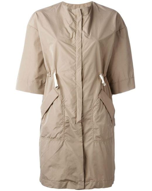 Eleventy | Женское Nude & Neutrals Short Sleeve Raincoat