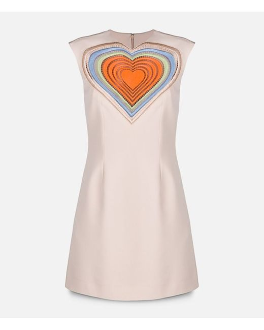 Christopher Kane | Женское Nude & Neutrals Extra Large Love Heart Motif Dress