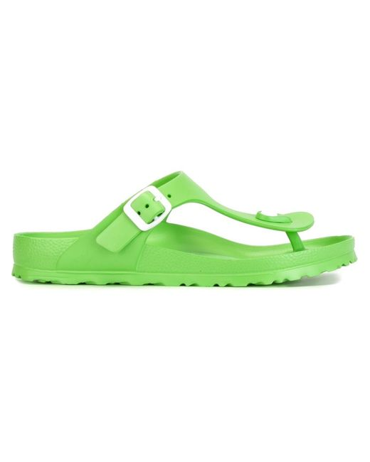 Birkenstock | Зелёный Waterproof Summer Flip Flops
