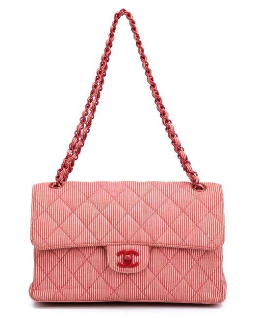 Chanel Vintage | Женское Красный Medium Double Flap Shoulder Bag