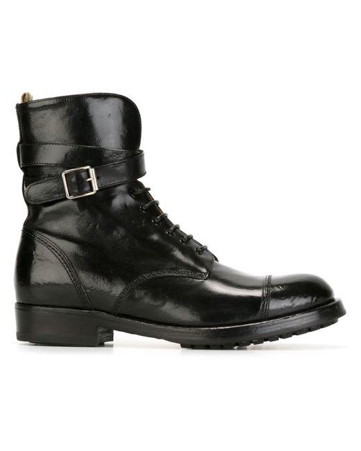 Officine Creative | Женское Чёрный Lavette Ankle Boots