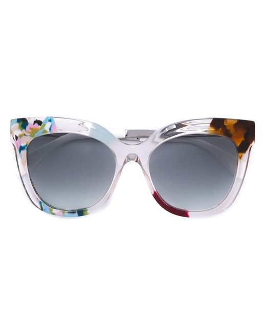 Fendi | Женское Белый Jungle Sunglasses