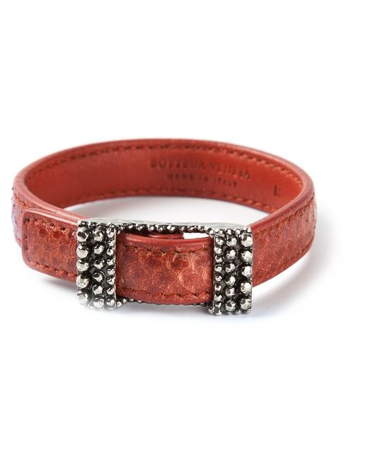 Bottega Veneta | Женское Красный Buckled Bracelet