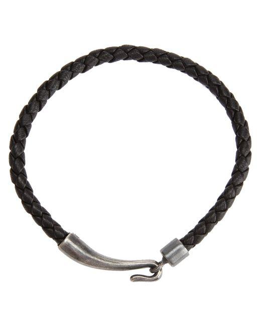 Bottega Veneta | Мужское Чёрный Woven Bracelet