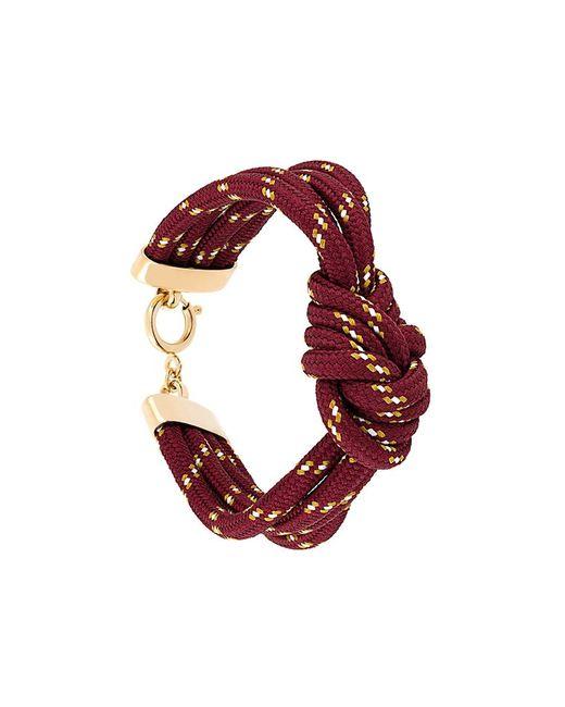 Isabel Marant   Женское Красный Twisted Bracelet