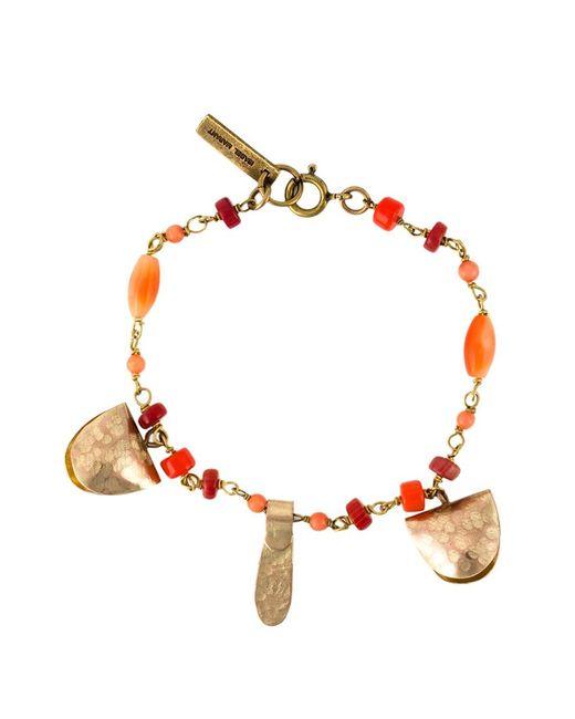 Isabel Marant | Женское Желтый Beaded Charm Bracelet