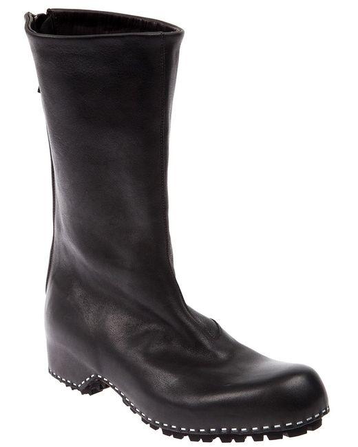 Premiata   Женское Чёрный Round Toe Boot