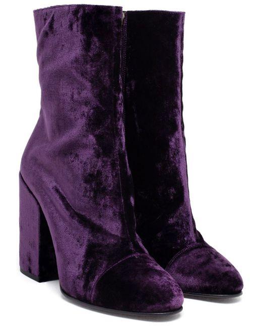 Dries Van Noten | Женское Boots Suede
