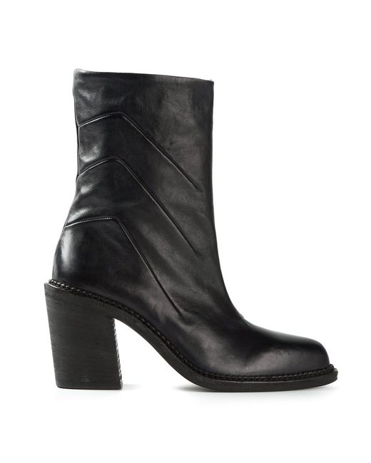 Premiata | Женское Чёрный Darted Detail Ankle Boots