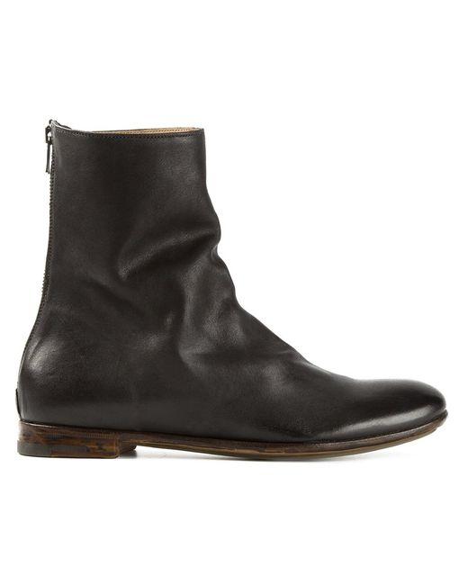 Premiata | Женское Чёрный Loose Fit Ankle Boots