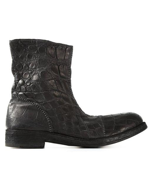 Isaac Sellam Experience | Мужское Чёрный Distressed Boots