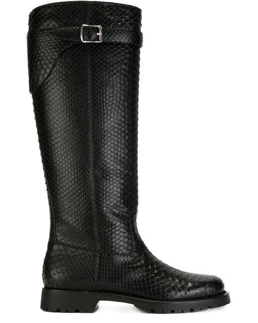 Saint Laurent | Женское Чёрный Knee High Boots