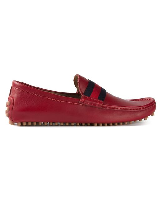 Gucci   Мужское Красный Driving Shoes
