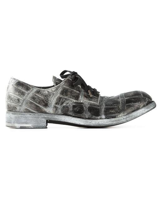 Isaac Sellam Experience   Мужское Серый Premiata X Derby Shoes