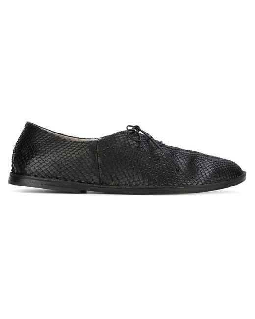 Marsell | Женское Чёрный Marsèll Python Skin Lace-Up Shoes