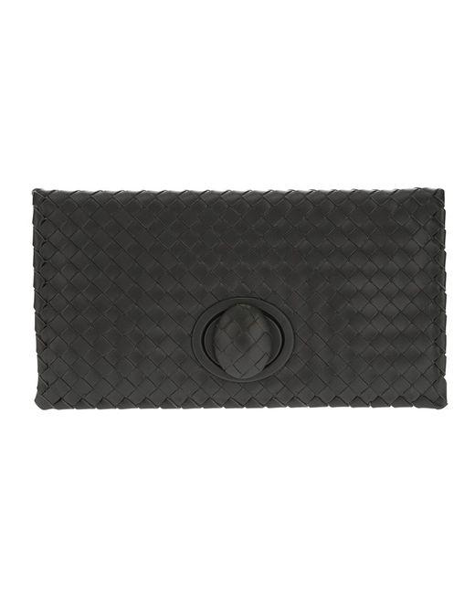 Bottega Veneta | Женское Серый Woven Leather Clutch
