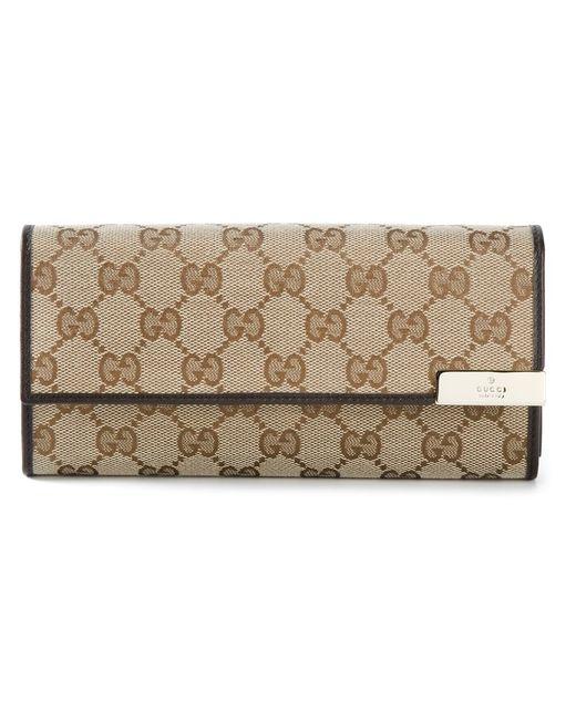 Gucci | Женское Коричневый Signature Monogram Clutch