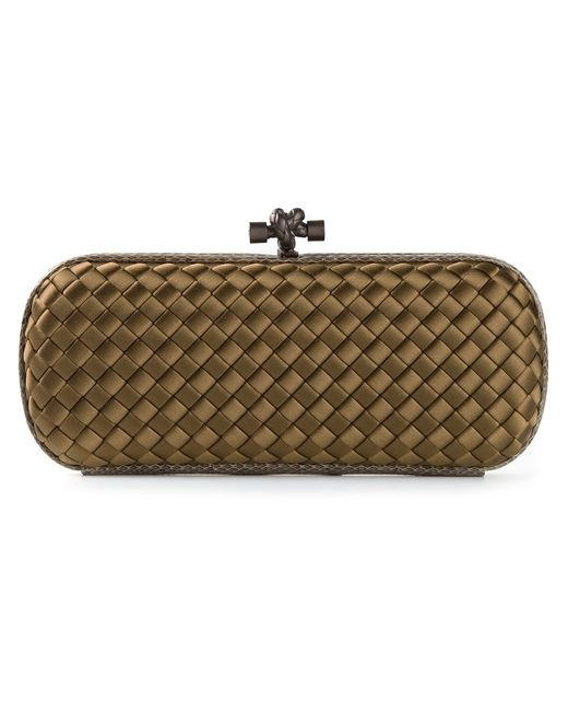 Bottega Veneta | Женское Nude & Neutrals Knot Box Clutch