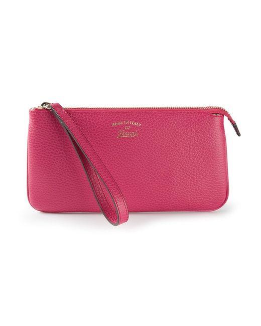 Gucci | Женское Розовый Small Swing Clutch