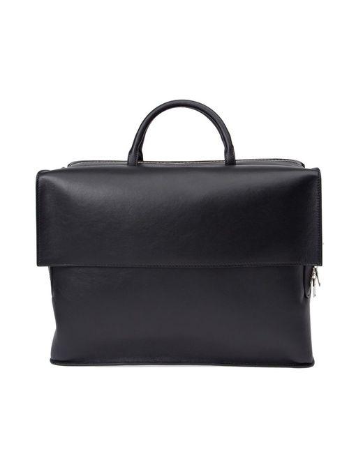 Balenciaga | Мужское Чёрный Front Flap Briefcase