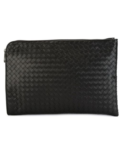 Bottega Veneta | Мужское Чёрный Woven Laptop Briefcase
