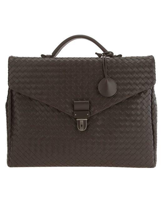 Bottega Veneta | Мужское Коричневый Intrecciato Briefcase