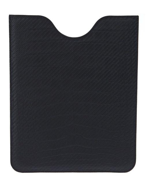 Jean Rousseau | Женское Чёрный Aligator Leather Ipad Sleeve