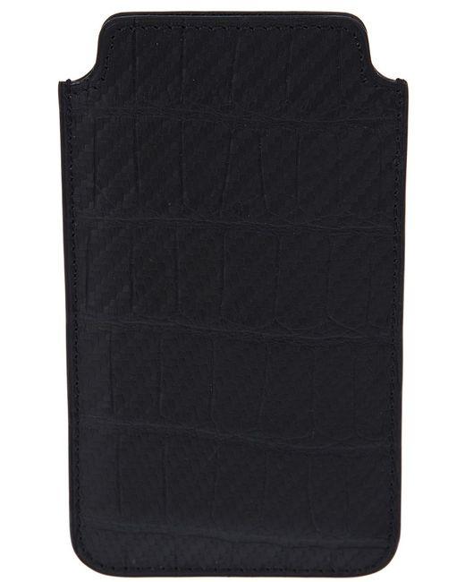 Jean Rousseau | Женское Чёрный Alligator Leather Iphone 5 Case