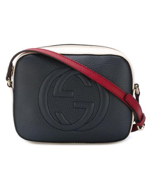 Gucci | Женское Синий Soho Crossbody Bag