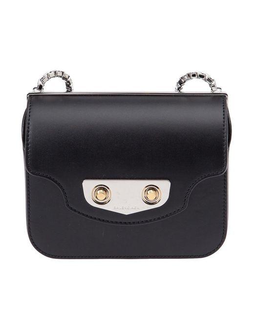 Balenciaga | Женское Чёрный Mini Neo Classic Chain Satchel