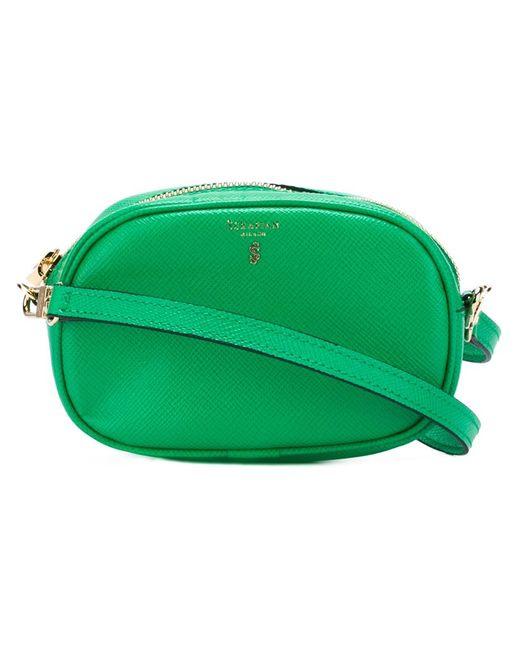 Serapian   Женское Зелёный Small Narida Crossbody Bag