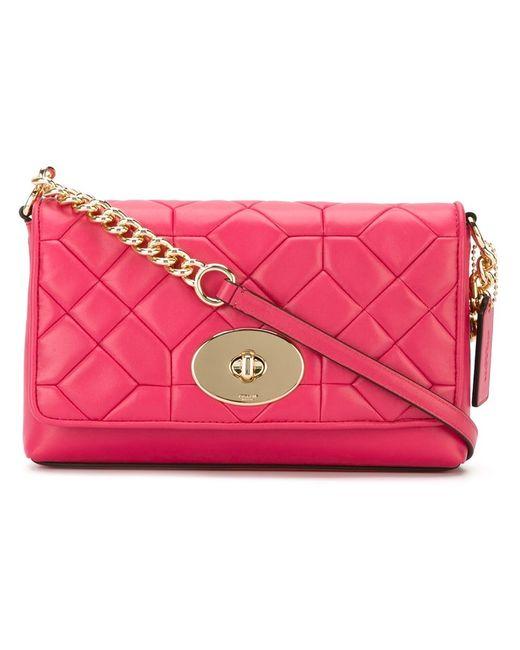 COACH   Женское Розовый Crosstown Cross Body Bag