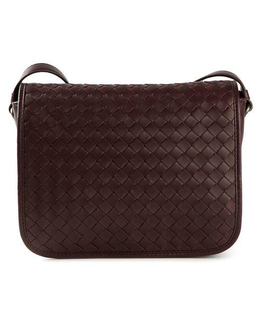 Bottega Veneta | Женское Красный Intrecciato Cross Body Bag