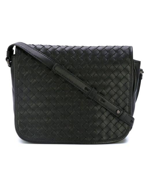 Bottega Veneta | Женское Чёрный Intrecciato Crossbody Bag