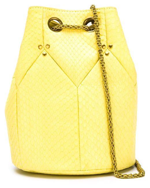 Jerome Dreyfuss | Женское Желтый Jérôme Dreyfuss Popeye Bucket Crossbody Bag