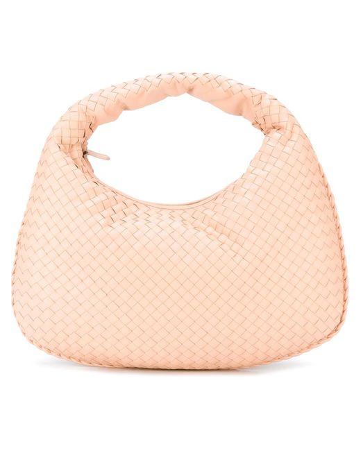 Bottega Veneta   Женское Розовый Woven Leather Tote