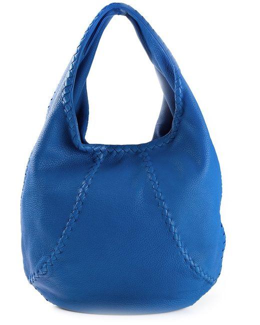 Bottega Veneta | Женское Синий Slouchy Shoulder Bag