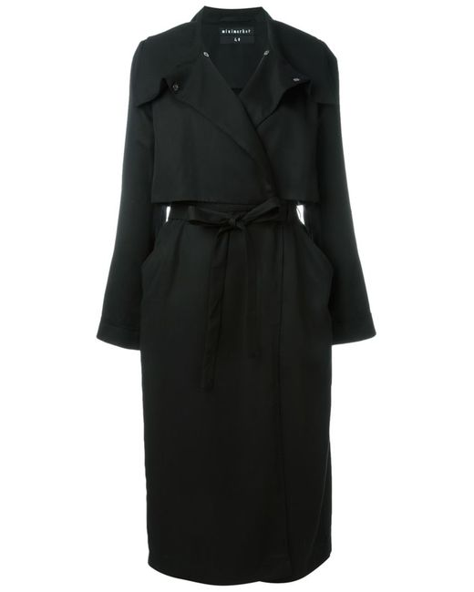 Minimarket | Женское Чёрное Пальто Tarot