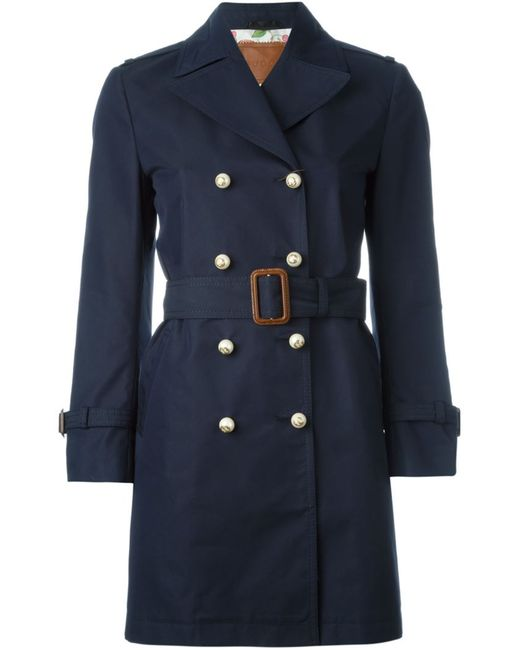 Gucci | Женское Синий Double Breasted Coat