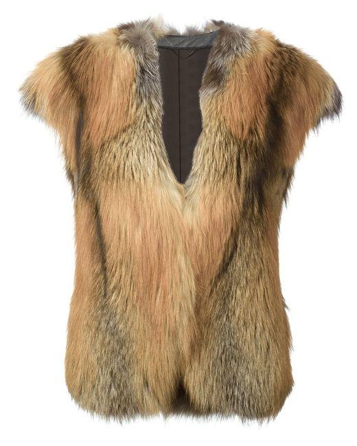 Liska | Женское Nude & Neutrals Short Sleeve Coat