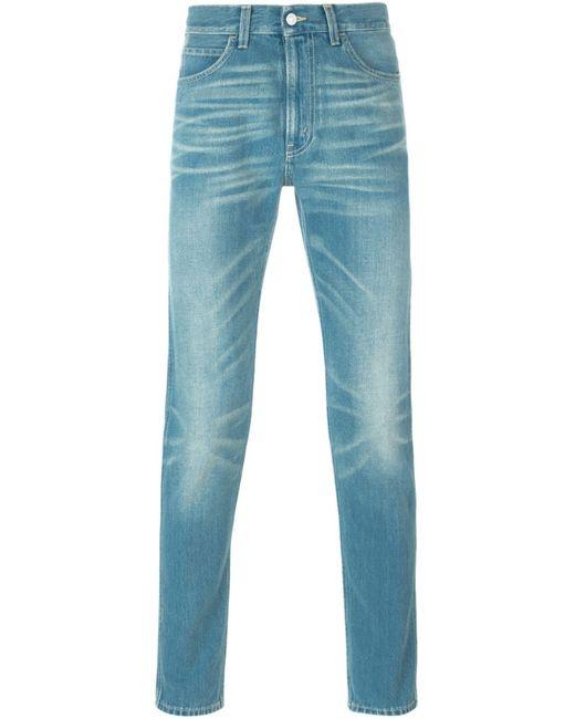 Gucci   Мужское Синий Slim Fit Jeans
