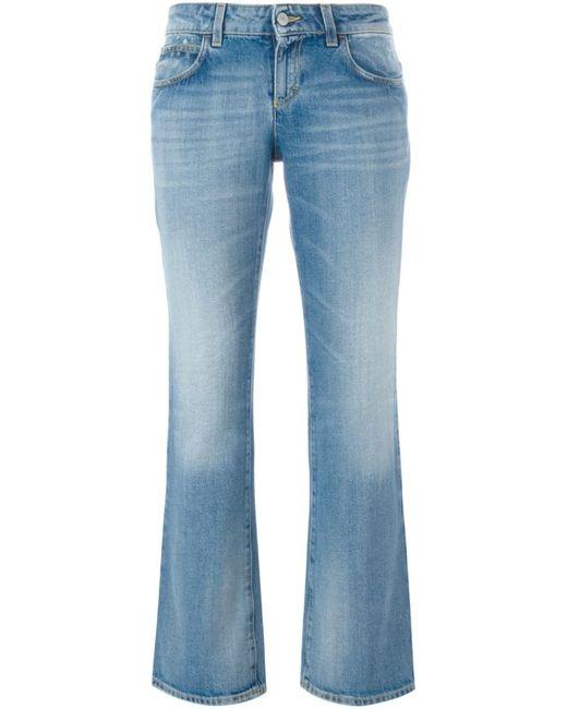 Gucci | Женское Синий Bootcut Jeans